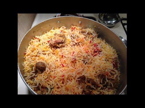 BIRYANI (HOW TO COOK PERFECT BIRYANI) - Pakistani/Indian Cooking with Atiya