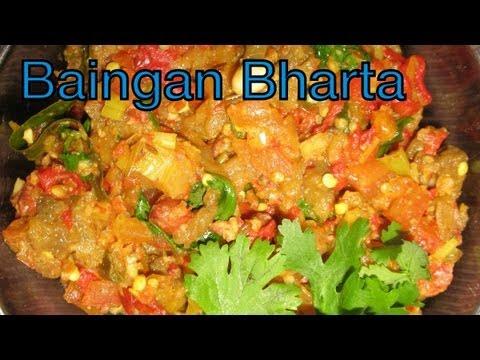 How To Cook Indian Punjabi Baingan Ka Bharta | Indian Food Recipes