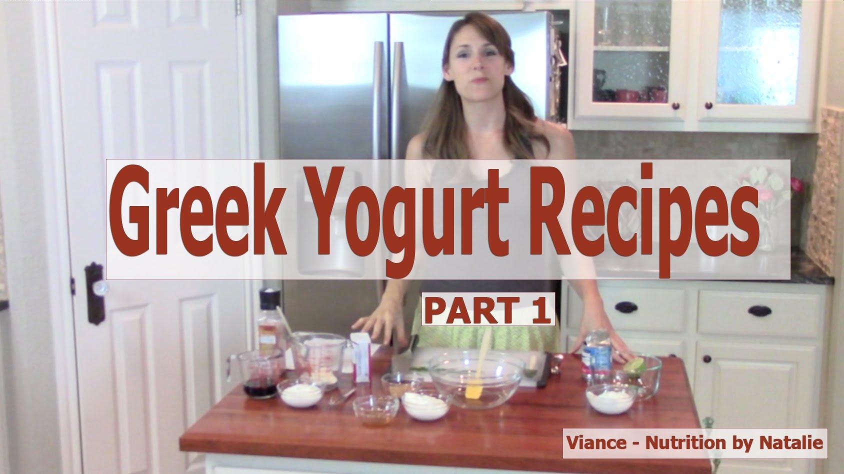 6 Delicious Recipes Using Greek Yogurt - Part 1
