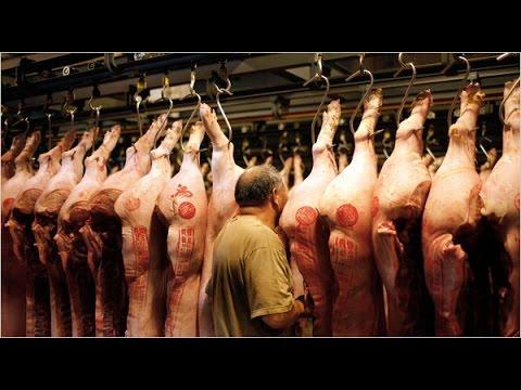 Badla hai Pakistan   PIG MEAT being sold in Lahore