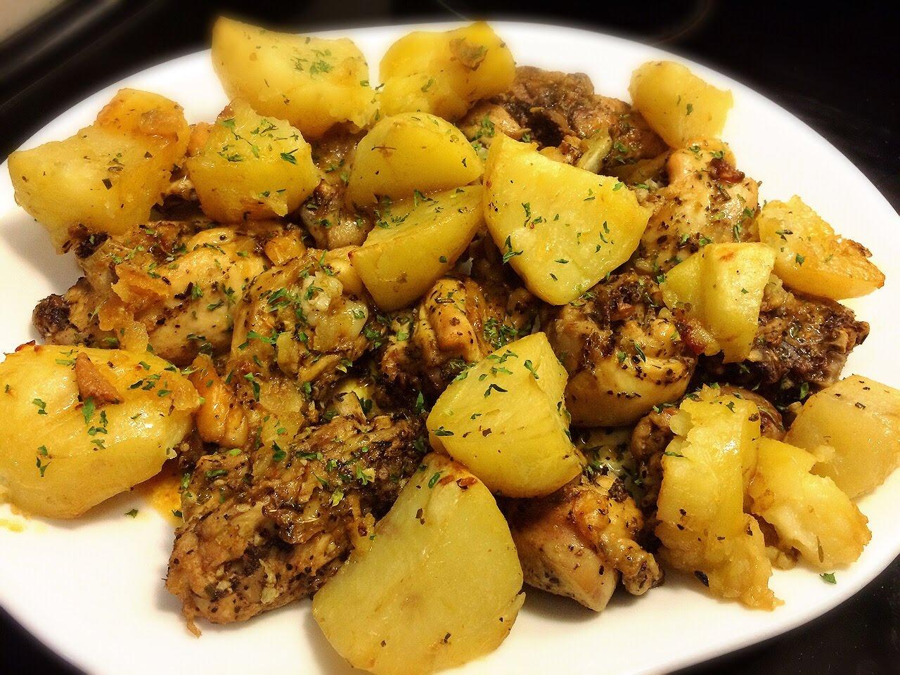 Easy to Make Greek Lemon Chicken & Potatoes