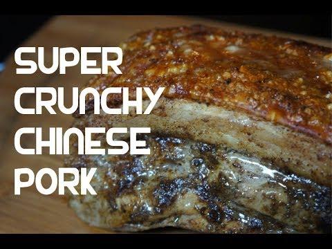 Perfect Crispy Chinese Roasted Pork Belly Recipe - 脆皮燒肉 Roast Asian
