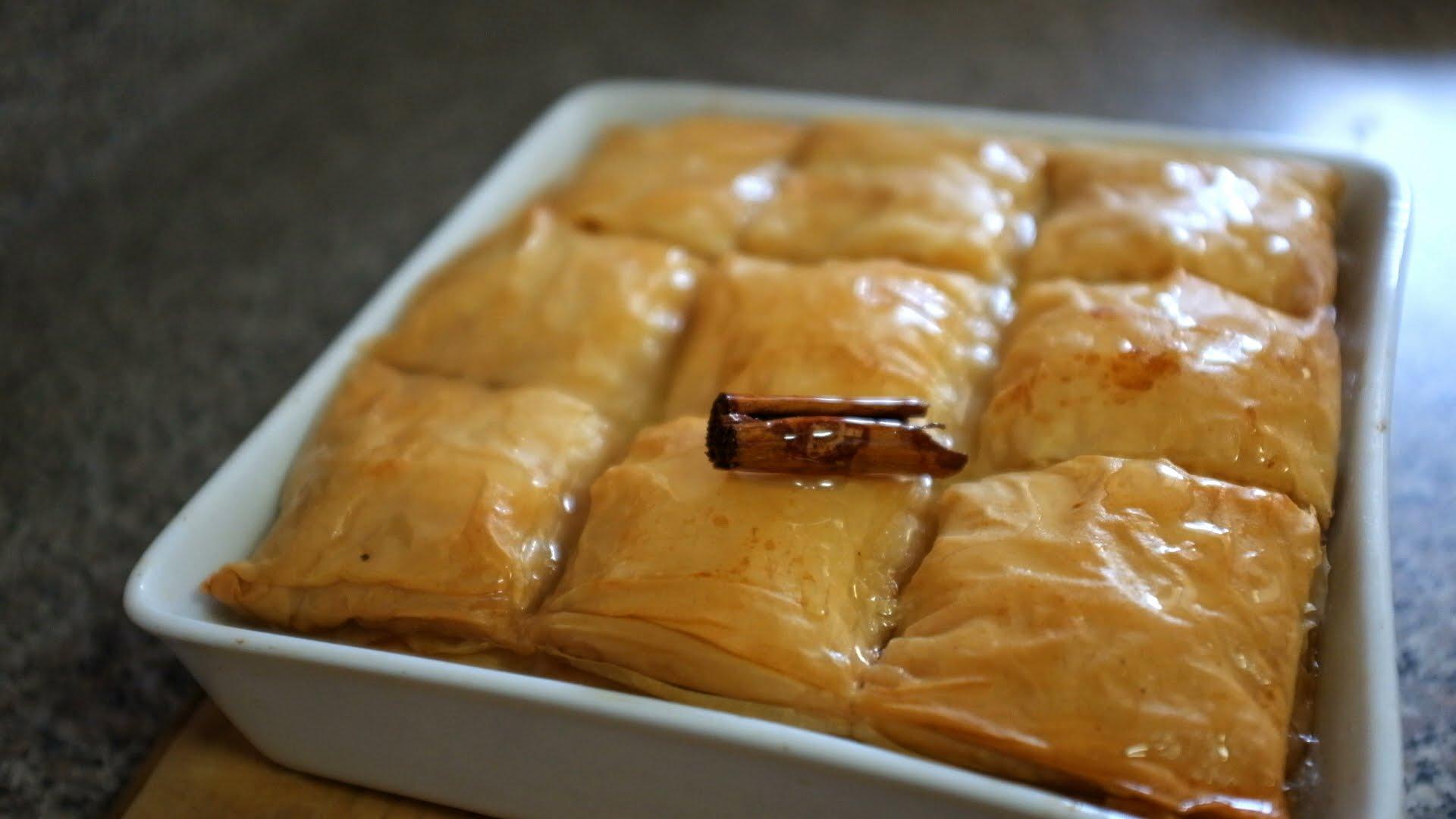 Galactomburico (Greek custard dessert) recipe