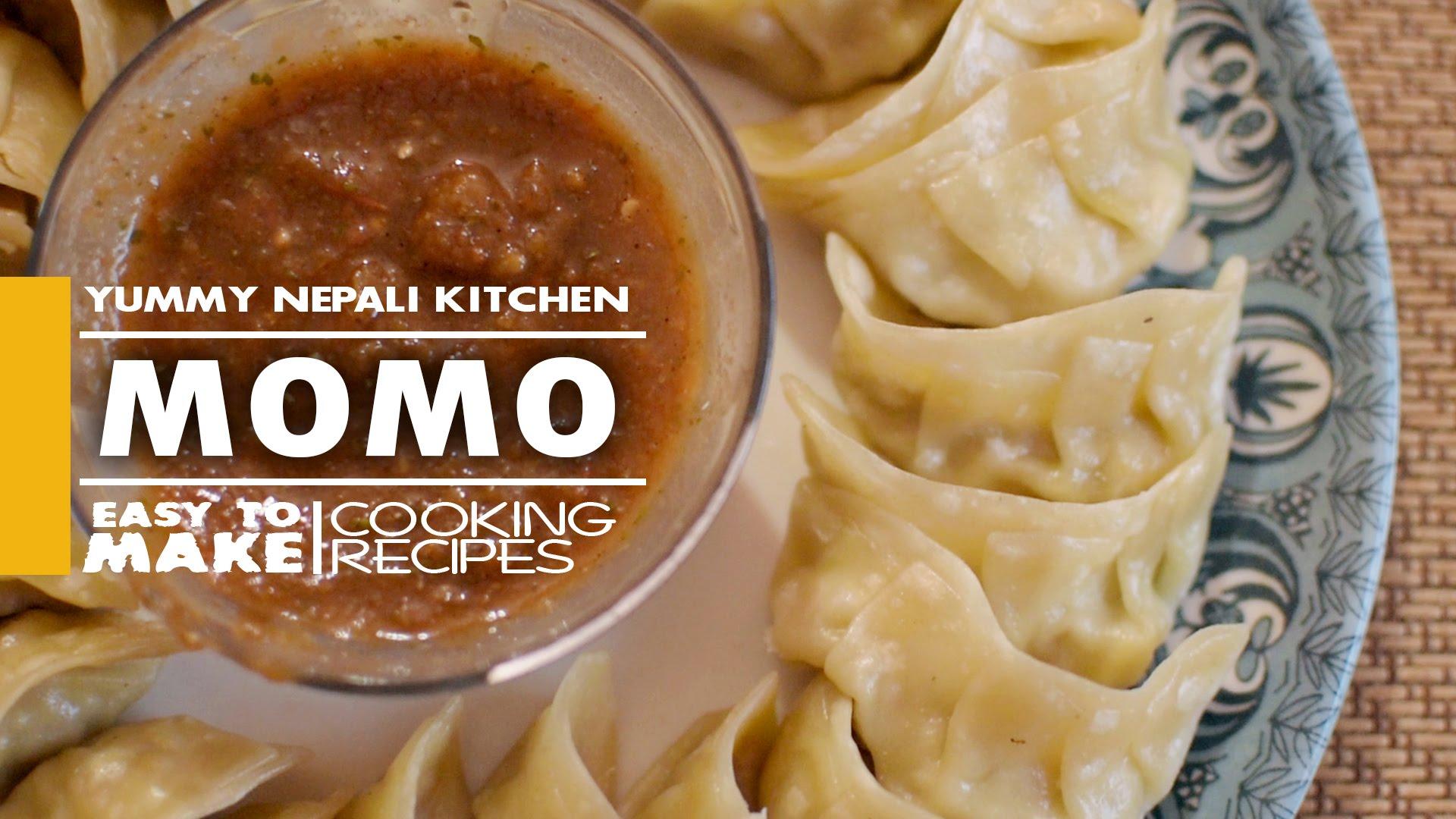 Chicken MoMo   Nepali Food Recipe