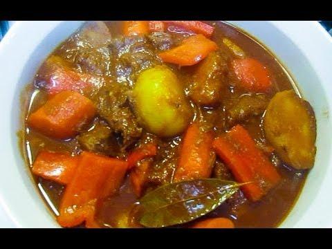 My FAVORITE Beef Mechado Recipe (Filipino Beef Stew)