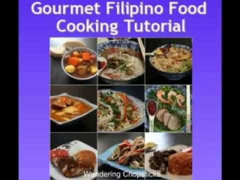 Gourmet Filipino Food Cooking Tutorial