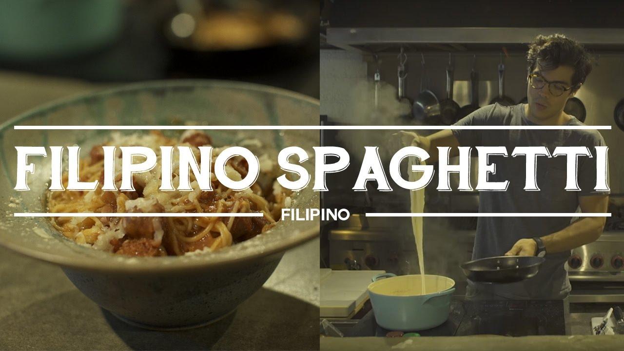 Filipino Sweet Spaghetti Recipe