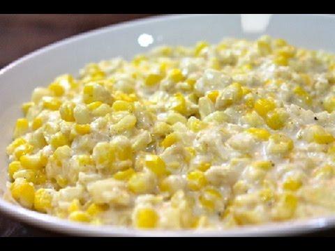 Creamed Corn Recipe - I Heart Recipes
