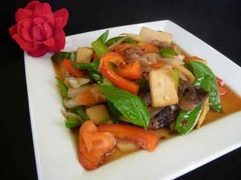 Thai Spicy Basil - Thai Cuisine Recipe