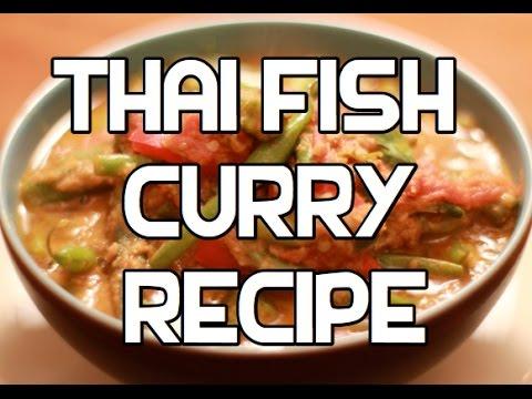 Easy Thai Fish Curry Recipe