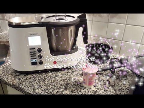 Lidl Kuchenmaschine Monsieur Cuisine Plus Thermomix Alternative