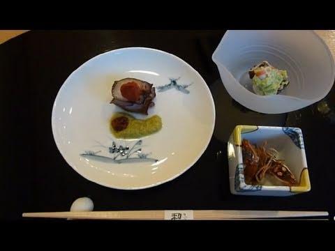Ten Course Japanese Dinner