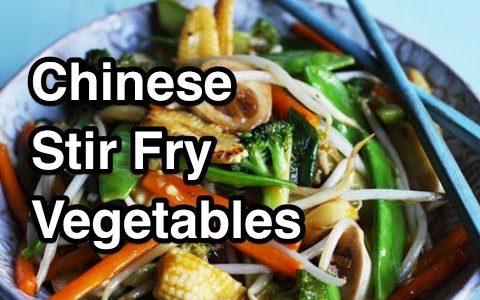 Chinese Stir Fry Vegetables Recipe - Asian Wok